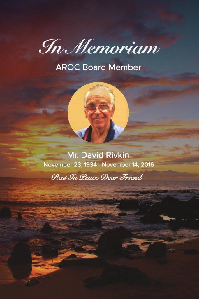 David Rivkin In Memoriam