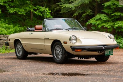 1979 Alfa Spider Veloce - Family Owned Since New, All Original, 46K Miles