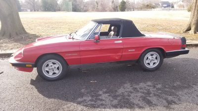 86 Spider Veloce - Kept in the Family, Time For a New Home