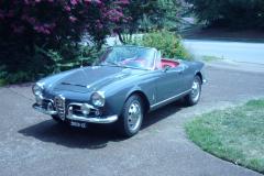 Entry # 262 - 1964 Giulia Spider - James Walker