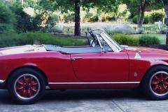 Entry # 128 - 1965 Giulia Spider Veloce - David Beach